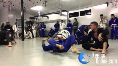 Rolling with 30 people in a row no rest – Keenan Cornelius